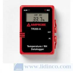 Bộ Ghi Dữ Liệu Nhiệt Độ Và Độ Ẩm Amprobe TR200-A