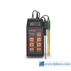 Máy Đo pH, ORP, Nhiệt độ cầm tay HI8424 Hanna Instruments