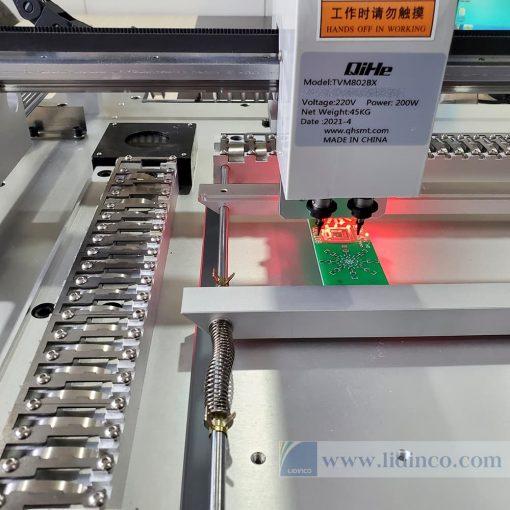 Máy gắp đặt linh kiện SMT tự động Qihe TVM802B