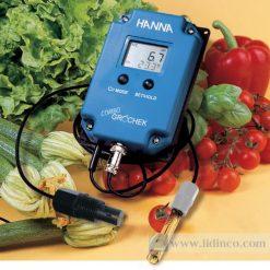 Combo đồng hồ đo pH / EC / TDS / Nhiệt độ (dải cao) Gro'chek -Hana Instruments HI991405