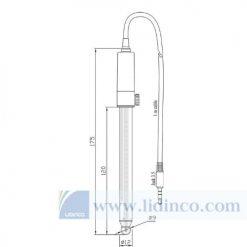 Điện cực pH chất liệu thủy tinh kỹ thuật số cho chất bán rắn và nhũ tương - Hana Instruments HI10530
