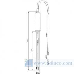 Điện cực pH thân thủy tinh kỹ thuật số có chân cắm - Hana Instruments HI11311