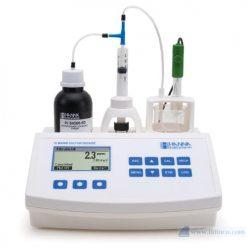 Máy chuẩn độ mini để đo lưu huỳnh điôxít trong rượu Hana Instruments HI84500
