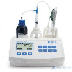 Máy chuẩn độ mini để đo số Formol trong rượu và nước trái cây Hana Instruments HI84533