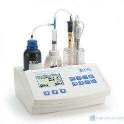 Máy chuẩn độ mini đo độ axit có thể chuẩn độ trong các sản phẩm sữa Hana Instruments HI84529