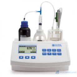 Máy chuẩn độ mini đo độ axit có thể chuẩn độ trong nước trái cây Hana Instruments HI84532