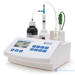 Máy chuẩn độ mini đo độ axit có thể chuẩn độ trong rượu Hana Instruments HI84502