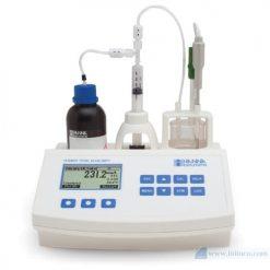 Máy chuẩn độ mini đo độ kiềm có thể chuẩn độ trong nước và nước thải Hana Instruments HI84531