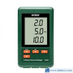 Bộ Ghi Dữ Liệu Áp Suất 3 Kênh Extech SD750