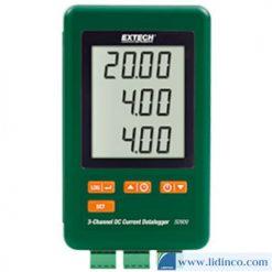 Bộ Ghi Dữ Liệu Dòng Điện DC 3 Kênh Extech SD900