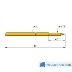 Chân pin ICT Ingun GKS-001 Series