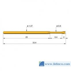 Chân pin ICT Ingun GKS-100 288 190 A 2000 33.4 mm 2 N