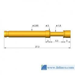 Chân pin ICT Ingun HSS-120 306 230 A 1502 27.3 mm 1.5 N