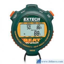 Đồng Hồ Bấm Giờ Độ Ẩm HeatWatch ™ Extech HW30