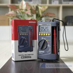 Đồng hồ đo điện vạn năng Sanwa CD800A BH 18 tháng