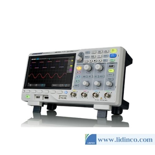 Máy hiện sóng số Siglent SDS1104X-E 100MHz, 4 kênh