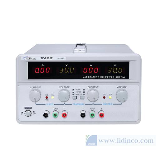 Nguồn DC tuyến tính hai ngõ ra 30V-5A Twintex TP-2305E