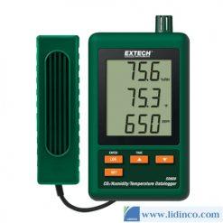 Bộ ghi dữ liệu CO2, độ ẩm và nhiệt độ Extech SD800