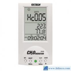Máy đo Formaldehyde (CH₂O hoặc HCHO), nồng độ, nhiệt độ không khí và độ ẩm Extech FM300