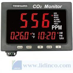 Thiết Bị Giám Sát CO2, Nhiệt Độ, RH Tenmar TM-187A
