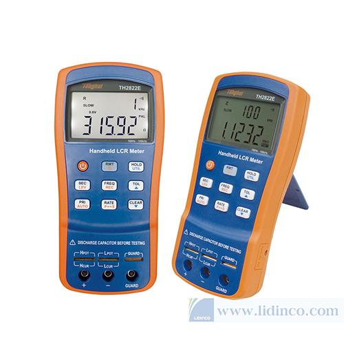 Đồng hồ đo LCR cầm tay TongHui TH2822A 10kHz