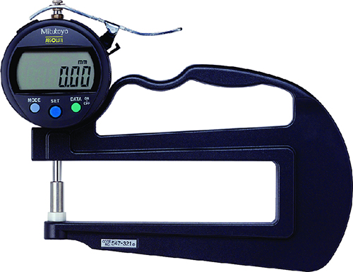 Thiết bị đo độ dày vật liệu