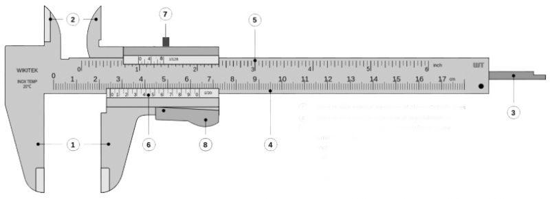 cấu tạo thước kẹp cơ khí - 1
